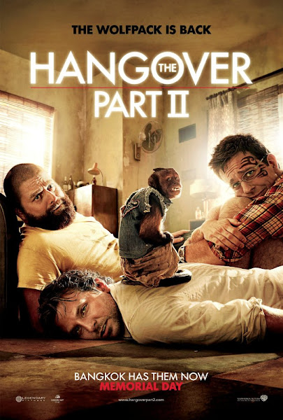 Poster of The Hangover Part 2 (2011) 720p Hindi BRRip Dual Audio Full Movie Download