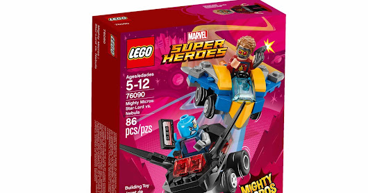 LEGO SET DATABASE LEGO 76090 Mighty Micros: Star-Lord vs. Nebula