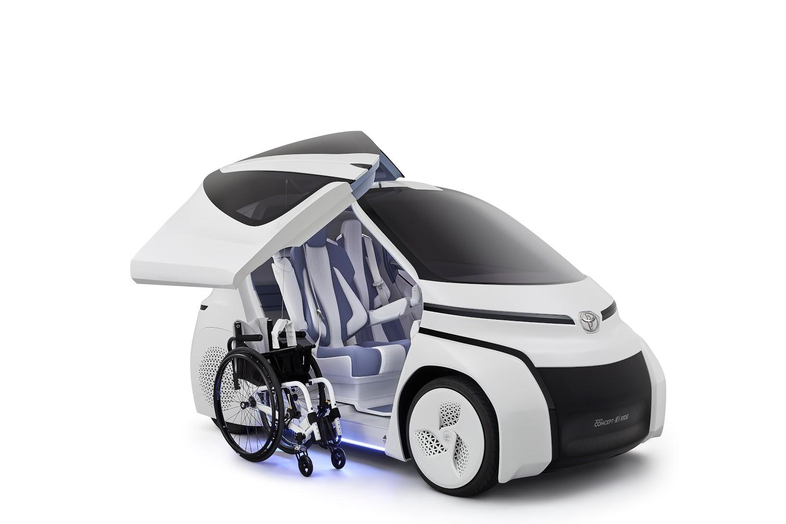 Voiture Du Futur Toyota Agrandit Sa Famille Ai