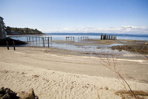 Salmon Bay Paddle: Nature Showing off Big High and Low Tides