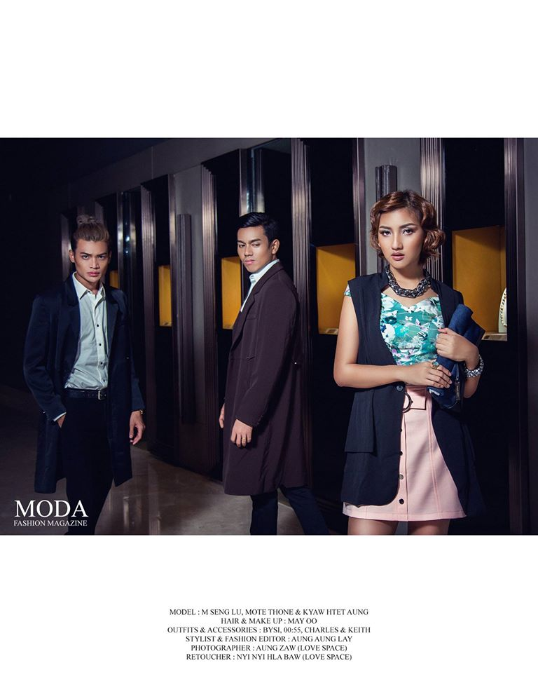 M Seng Lu : She Bangs In MODA Fashion Magazine