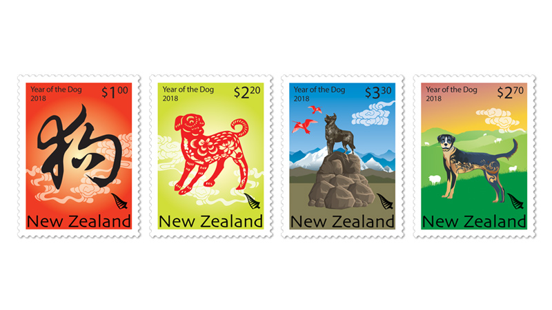 COLLECTORZPEDIA: New Zealand 2018 - Year of the Dog