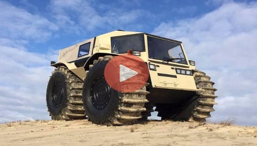 Sherp: Το ρωσικό όχημα «τέρας» που πάει παντού! (Video)