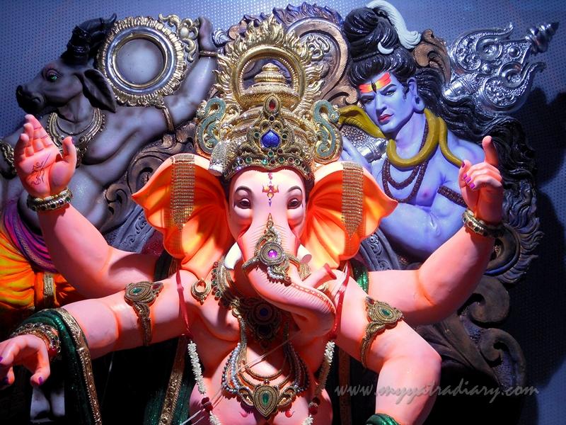 Ganapati - Lord of the Ganas, Ganesh Chaturthi Festival Pandal, Mumbai