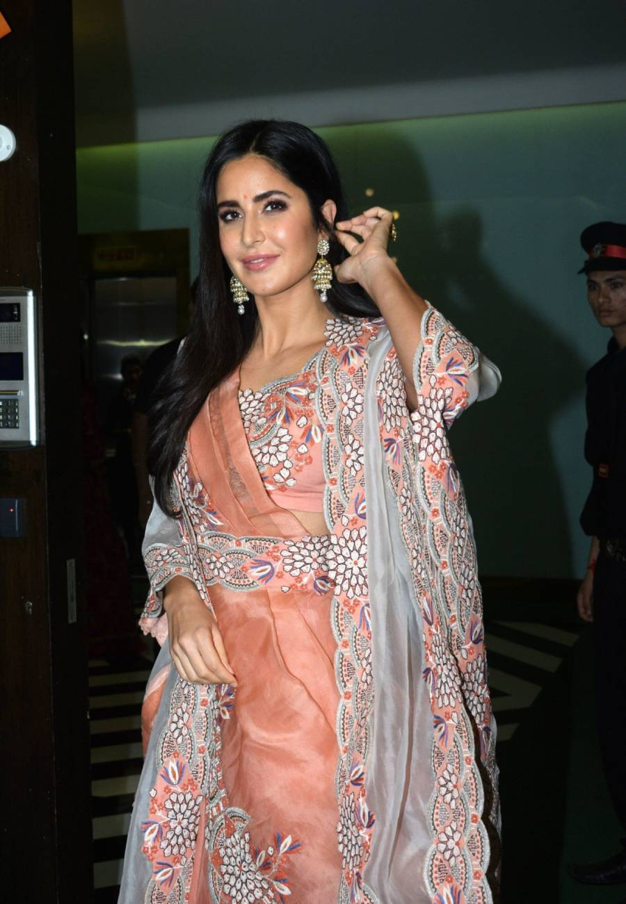 Katrina Kaif At Arpita Khan Home For Ganesh Chaturthi