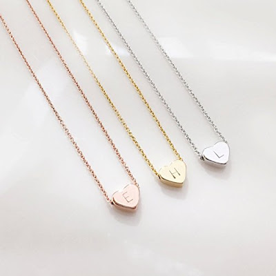 Personalized Heart Necklace $17.50 + free shipping