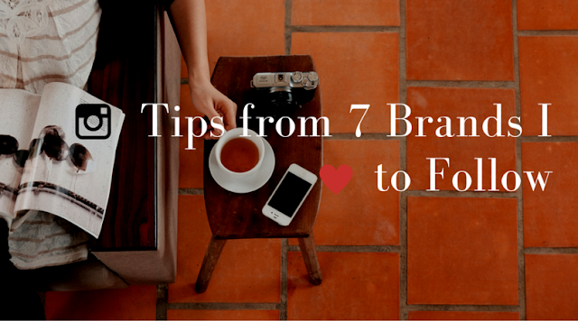 Instagram Tips from 7 Brands I Love to Follow