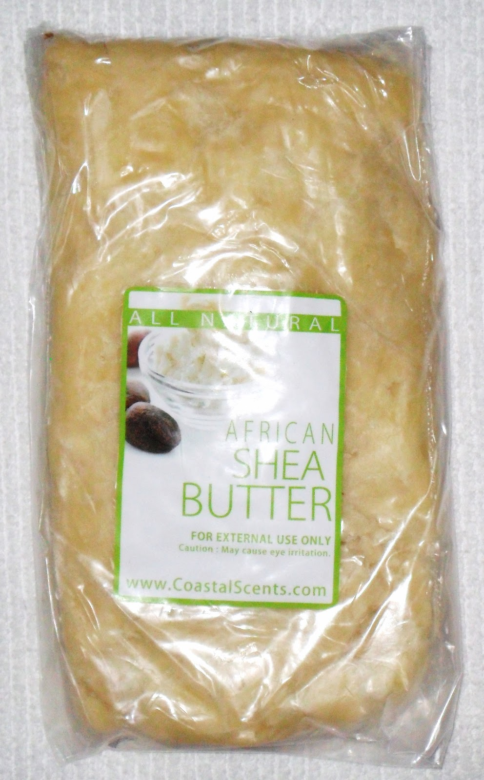 does shea butter smell