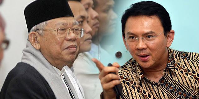 Luhut: Ahok Terima Ma'ruf Amin Dampingi Jokowi