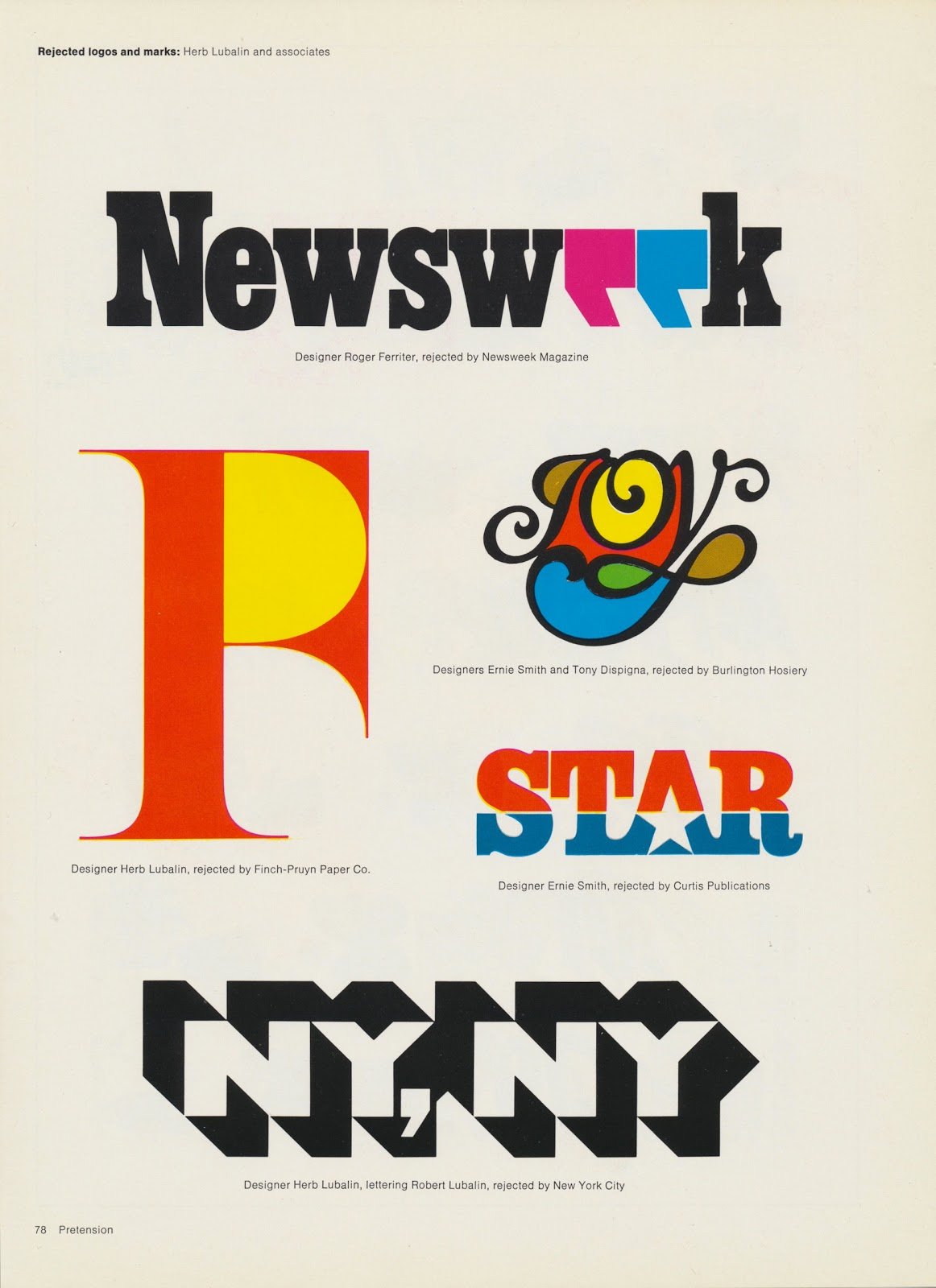 Tenth Letter Of The Alphabet Creator Herb Lubalin Part 8