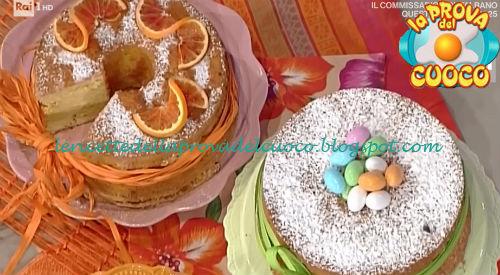 Chiffon Cake all'arancia ricetta Cattelani da Prova del Cuoco