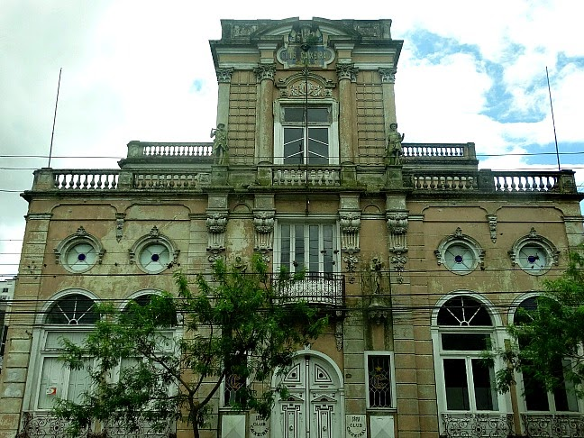 Clube Caixeiral, em Pelotas