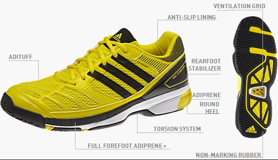 size 40 77122 6f5eb adidas bt feather badminton shoes price in india