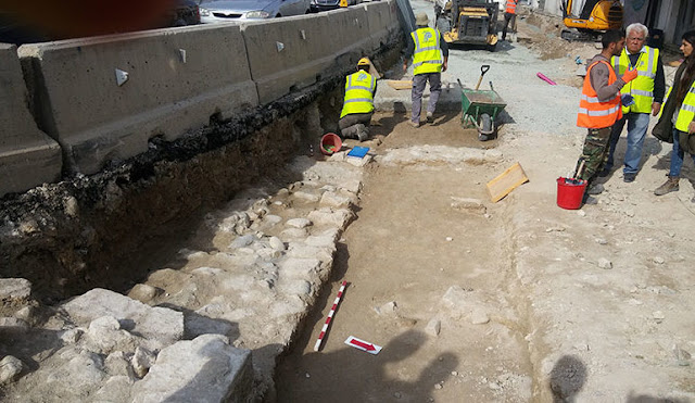 Limassol roadworks uncover mediaeval skeletons