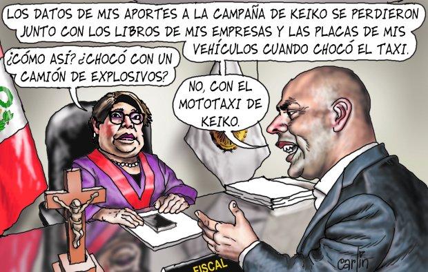 Carlincaturas Lunes 13 Marzo 2017 - La República