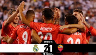 Real Madrid vs AS Roma Video Gol & Highlights