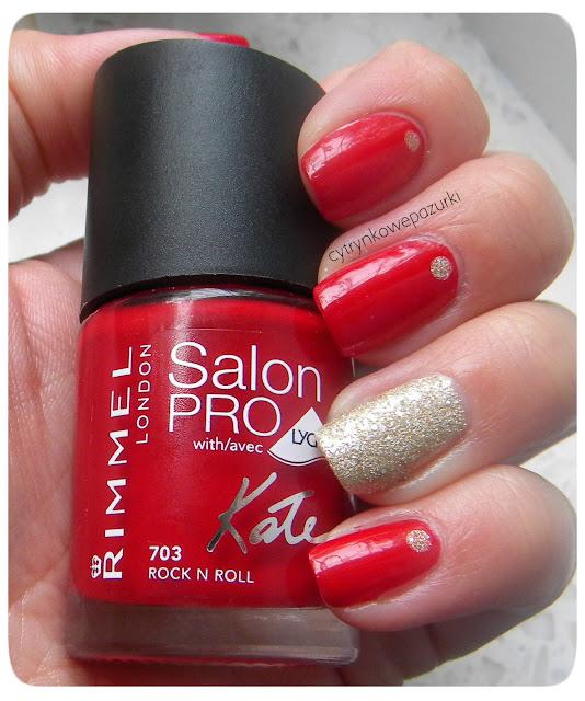Rimmel Salon Pro 703 Rock N Roll i P2 Sand Style 100 precious