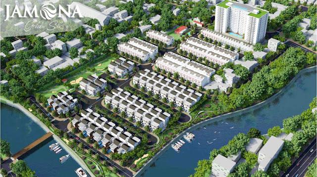 Phối cảnh dự án Jamona Golden Silk quận 7.