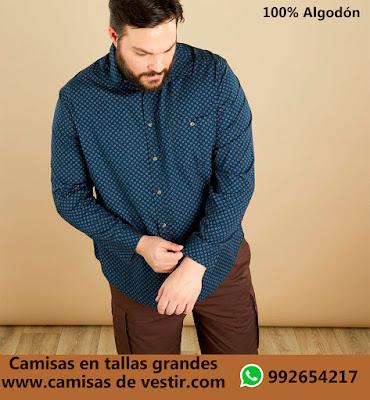 Camisas tallas grandes Chiclayo