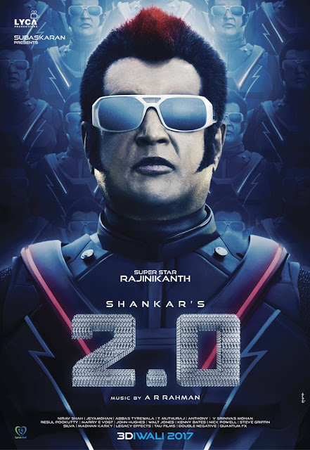 Rajnikanth First look poster in 2point0