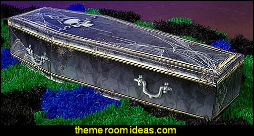 Creepy Coffin Halloween Party  Halloween Party Decorations Halloween Props