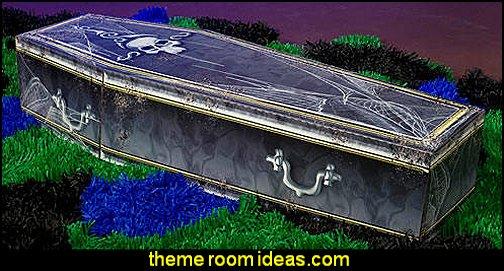 Creepy Coffin Halloween Party  Halloween Party Decorations Halloween Props