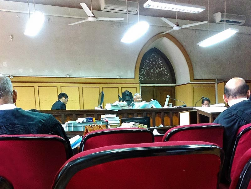 Stock Pictures Inside the Bombay High Court