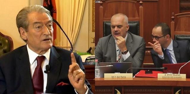 Berisha calls on to Meta to not decree Rama as Foreign Minister