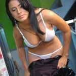 Andrea Rincon, Selena Spice Galeria 5 : Vestido De Latex Negro Foto 169