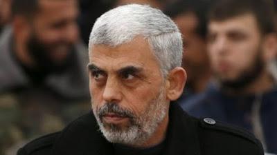 قائد حركة حماس فى غزة يحيى السنوار