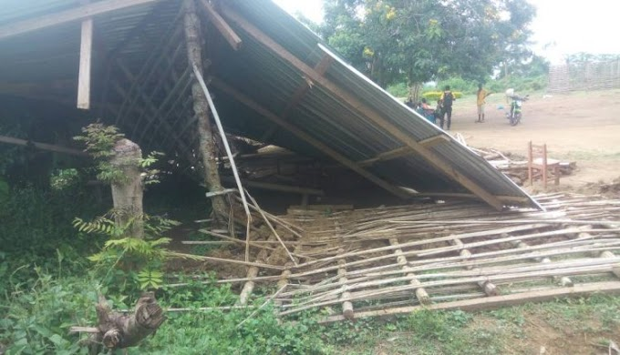 Pupils escape death as mud-made classroom collapses in Eastern Region