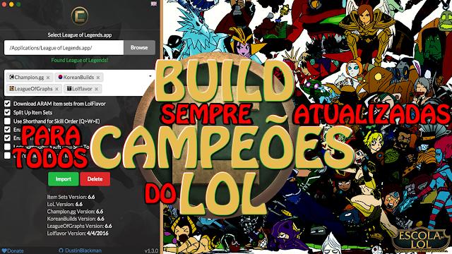 Championify, App de builds para League of Legends