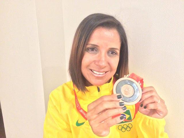 Rosemar de Miracatu no Vale do Ribeira recebe  medalha Olímpica de Bronze retroativa a 2008 por doping da Russa