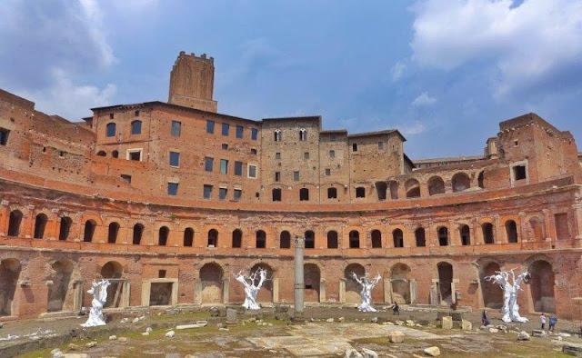 Mercados de Trajano en Roma