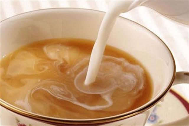 ceaiul cu lapte albeste eficient dantura