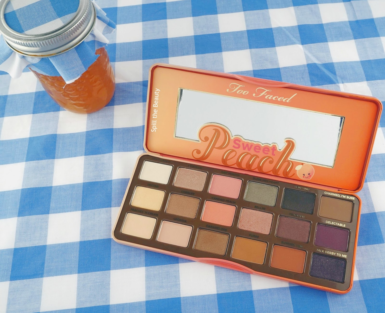 Challenge Week:  Too Faced Sweet Peach Palette