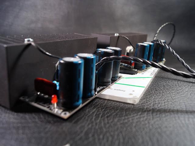 """Усилительные модули """"Кристалл"""" (на микросхеме TDA7294)"""