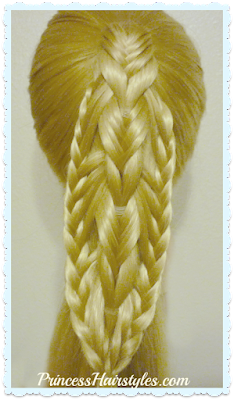 Braided Edge Banded Fishtail Braid, Video Tutorial