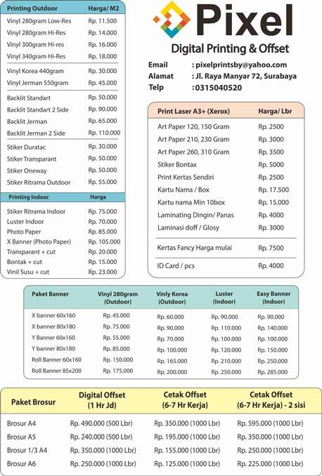 Tips Cetak Brosur Murah Surabaya