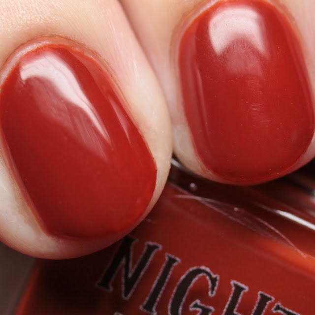 Night Owl Lacquer Don't Lose Your Head