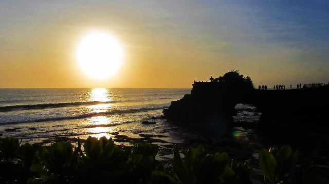 sunset batu bolong