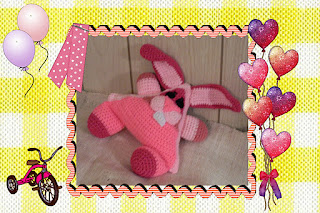 funmigurumi huggy dumpling hopper the rabbit crochet pattern