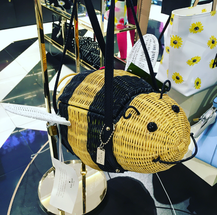 Kate Spade Wicker Bee Bag