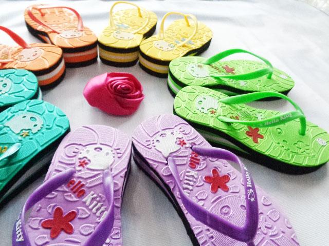 Pabrik Sandal Hellokity Anak Lucu | 082317553851