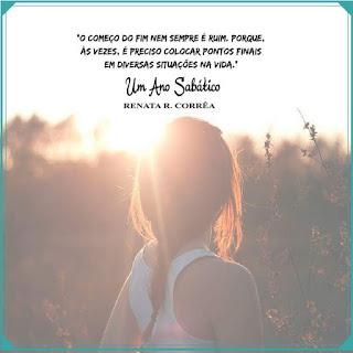 Um Ano Sabático - Renata R. Corrêa