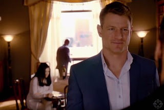 Alex on The Player Philip Winchester photos pics images