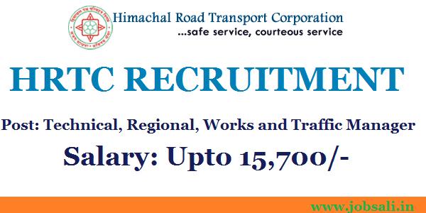 Jobs in hrtc, government jobs in Himachal, hrtc Notification