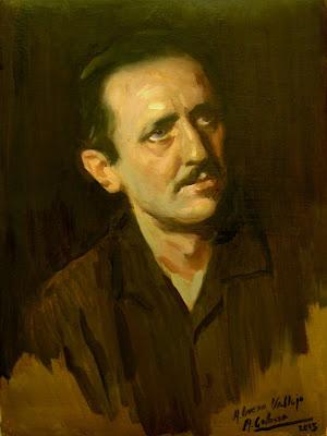Antonio Buero Vallejo, Museo nacional del Teatro, Poesia española, Generación del 27, Poetas españoles, Literatura española, Alejandro Cabeza, Retrato de Alejandro Cabeza