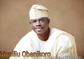 Musiliu Obanikoro has accepted to make a refund of the Money