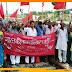 बिहार प्रांतीय खेतीहर मजदूर यूनियन एवं सीपीएम जनवादी महिला मोर्चा का प्रदर्शन